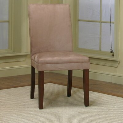 Homole Parsons Chair Upholstery: Stone