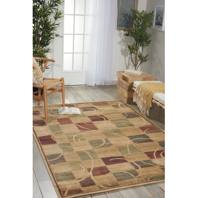 Pyrex Beige Area Rug Rug Size: Rectangle 96 x 13