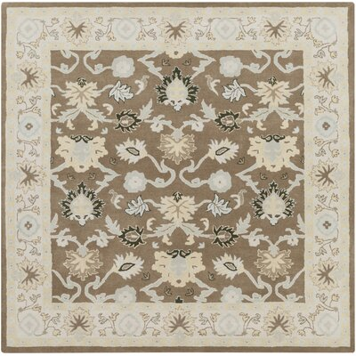 Keefer Gray Area Rug Rug Size: Square 8