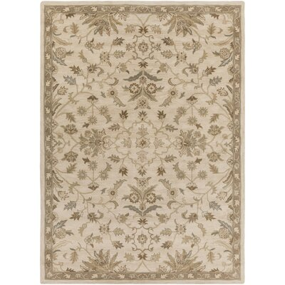 Topaz Beige Area Rug Rug Size: Rectangle 8 x 11