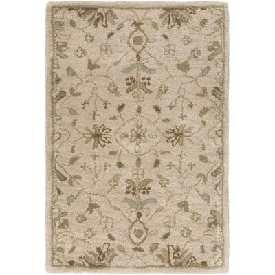 Topaz Beige Area Rug Rug Size: Rectangle 4 x 6