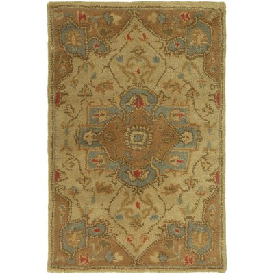 Topaz Gold Area Rug Rug Size: Rectangle 2 x 3