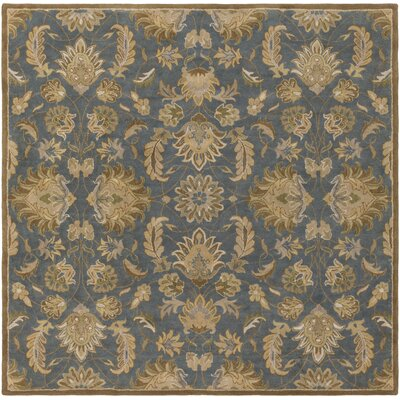 Topaz Hand-Tufted Area Rug Rug Size: Square 8