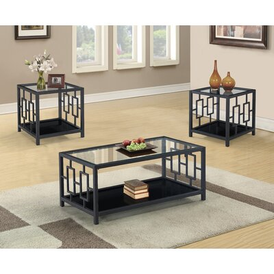 Johari 3 Piece Coffee Table Set
