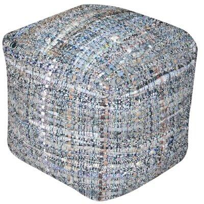 Wilkins Pouf Ottoman Upholstery: Khaki