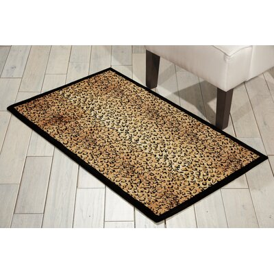 Sana Animal Print Area Rug Rug Size: Rectangle 23 x 39