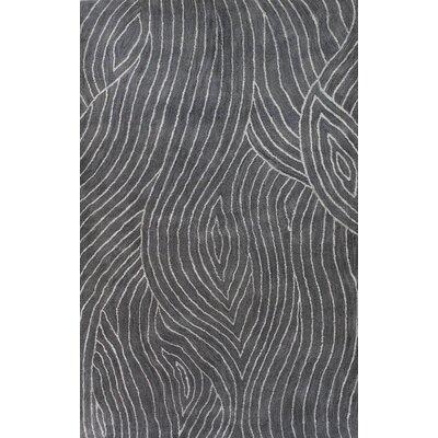 Clarksburg Hand-Tufted Grey Area Rug Rug Size: 79 x 99