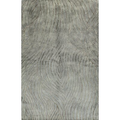 Ryleigh Hand-Tufted Light Blue Area Rug Rug Size: 39 x 59