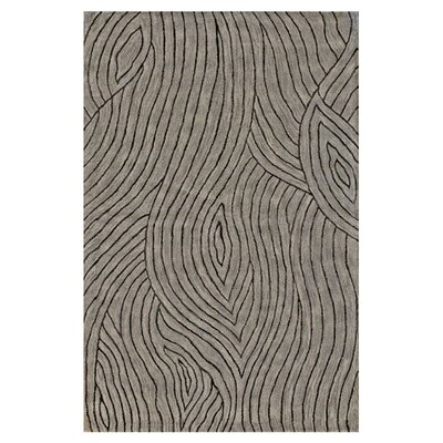Ryleigh Hand-Tufted Taupe Area Rug Rug Size: 56 x 86