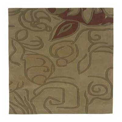 Safford Hand-Tufted Beige Area Rug Rug Size: Rectangle 5 x 7