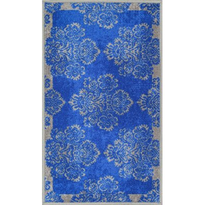Andaluss Blue Area Rug Rug Size: 18 x 5