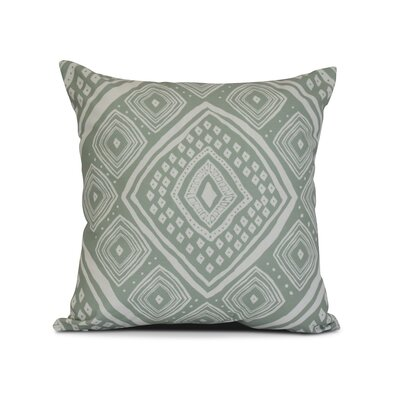 Mercado Throw Pillow Size: 18 H x 18 W x 3 D, Color: Soft Green