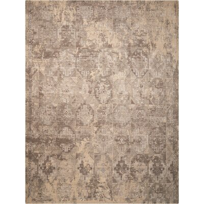 Soualem Tibetan Gray/Ivory Area Rug Rug Size: Rectangle 86 x 116