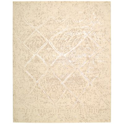Fredericia Gray/Ivory Area Rug Rug Size: 86 x 116