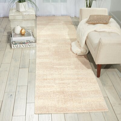 Soualem Gray/Ivory Area Rug Rug Size: Runner 25 x 10