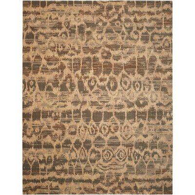 Samir Beige/Brown Area Rug Rug Size: Rectangle 99 x 139