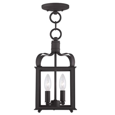 Robertson 2-Light Foyer Pendant Finish: Bronze