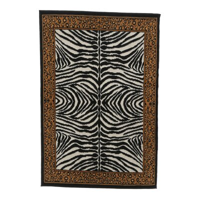 Kaly Animal Area Rug Rug Size: 37 x 53