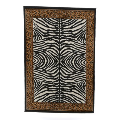 Kaly Animal Area Rug Rug Size: 53 x 75