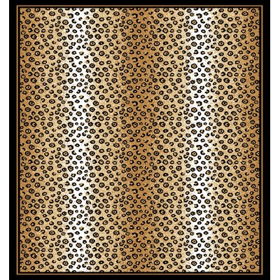 Kaly Ebony Area Rug Rug Size: Rectangle 37 x 52