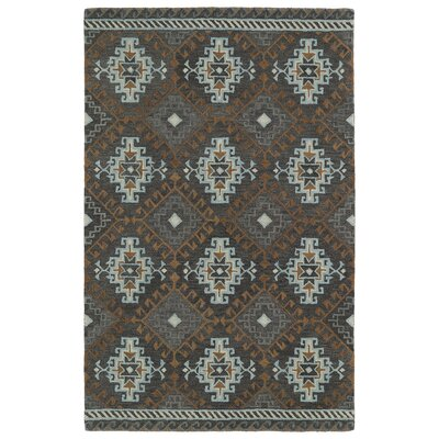 Rosecrans Grey Area Rug Rug Size: Rectangle 9 x 12