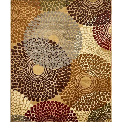 Apex Beige Area Rug Rug Size: 8 x 10