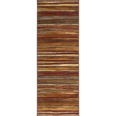 Apex Beige Area Rug Rug Size: Runner 22 x 6