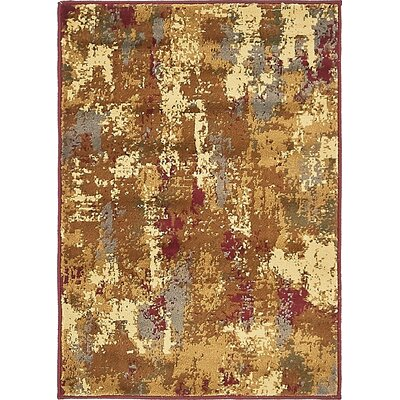 Apex Beige Area Rug Rug Size: 22 x 3