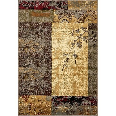 Apex Beige Area Rug Rug Size: 4 x 6