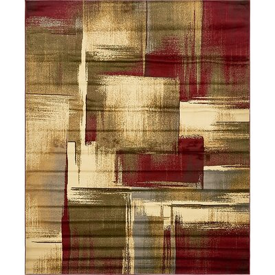 Apex Brown/Beige Area Rug Rug Size: 8 x 10