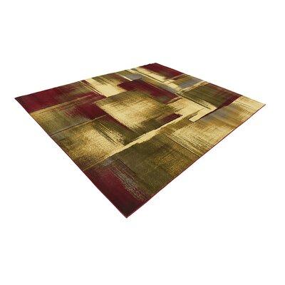 Jaidan Brown/Beige Area Rug Rug Size: 9 x 12