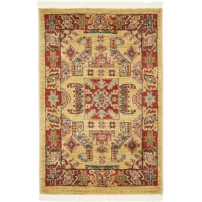 Valley Beige Area Rug Rug Size: 9 x 12