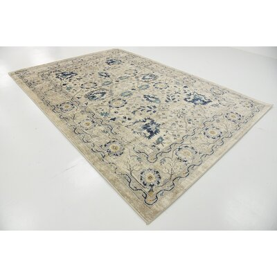 Geleen Beige Area Rug Rug Size: Rectangle 7 x 10