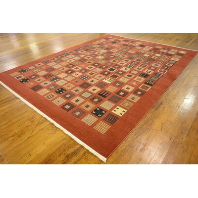 Bhakta Brown Area Rug Rug Size: 9 x 12