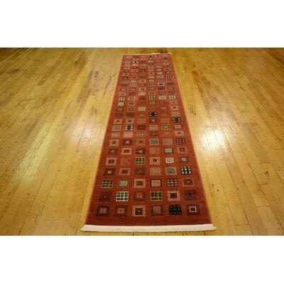 Bhakta Brown Area Rug Rug Size: Runner 27 x 10