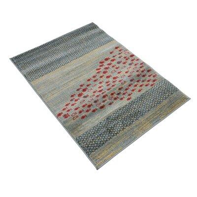 Bhakta Gray Area Rug Rug Size: 22 x 3