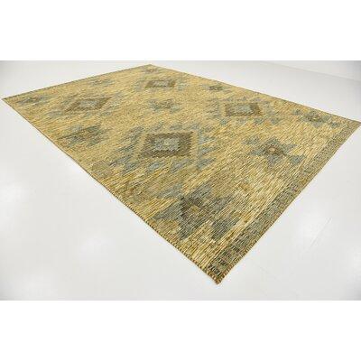 Bhakta Gold Area Rug Rug Size: 910 x 13