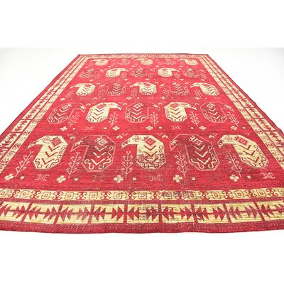Bhakta Red Area Rug Rug Size: 910 x 13