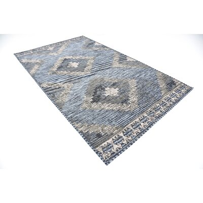 Bhakta Gray Area Rug Rug Size: 5 x 8