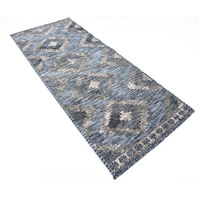 Bhakta Gray Area Rug Rug Size: Runner 29 x 67