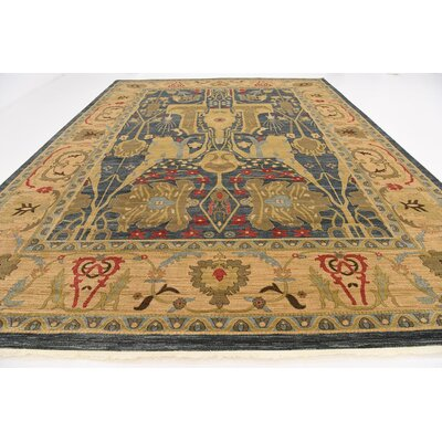 Lerma Gray/Brown Area Rug Rug Size: Rectangle 122 x 16