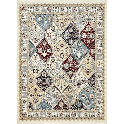 Jadyn Ivory Area Rug Rug Size: Rectangle 13 x 198