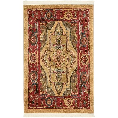 Zoey Light Brown Area Rug Rug Size: 10 x 13