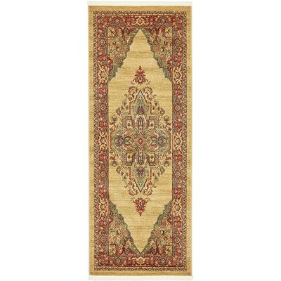 Zoey Light Brown Area Rug Rug Size: Runner 27 x 67
