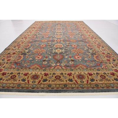 Fonciere Gray/Brown Area Rug Rug Size: 106 x 165