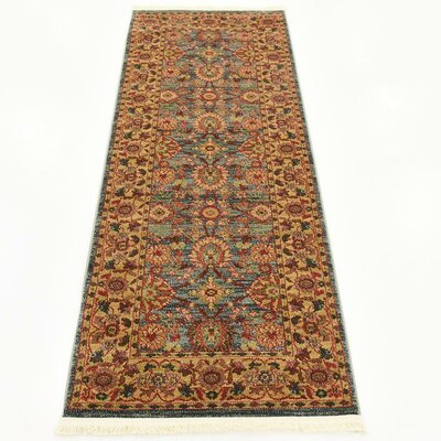 Fonciere Gray/Brown Area Rug Rug Size: Runner 27 x 67