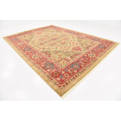 Zoey Light Brown Area Rug Rug Size: Rectangle 10 x 13