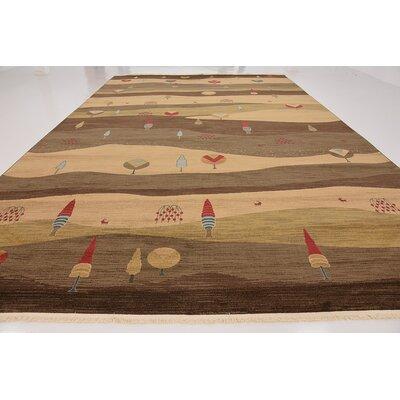 Jan Tan Abstract Area Rug Rug Size: Rectangle 10 x 16