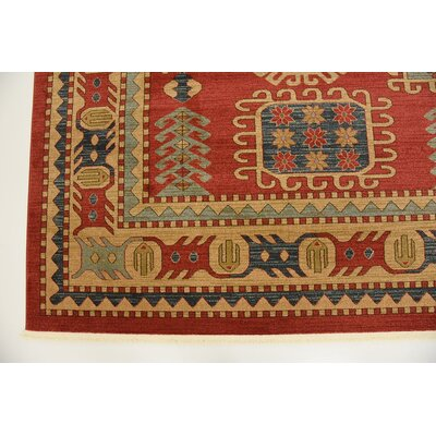 Lerma Red Area Rug