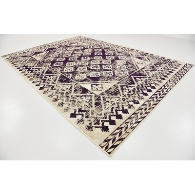 Bhakta Purple Area Rug Rug Size: 910 x 13